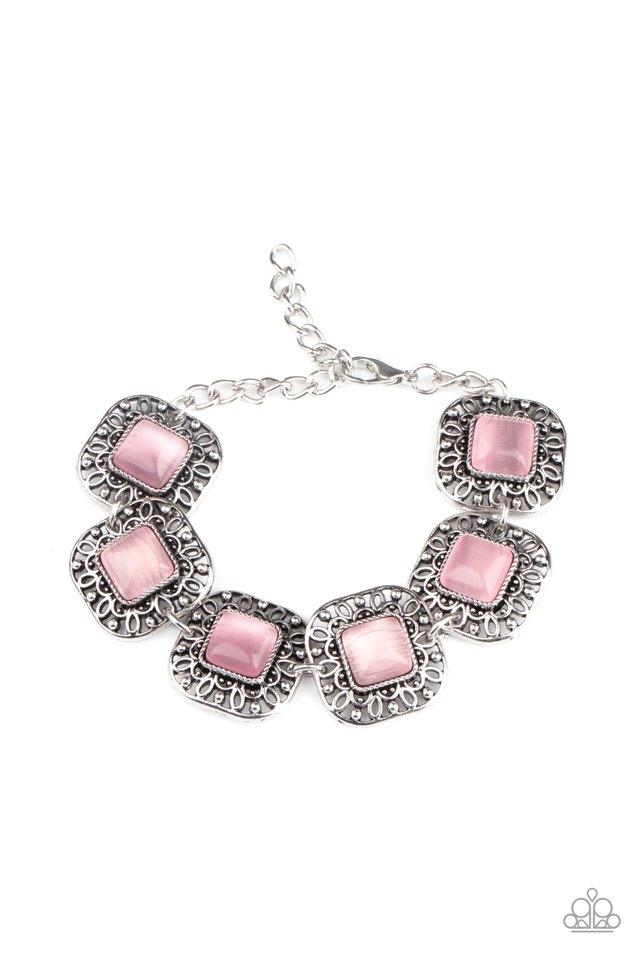 Dreamy Destinations - Pink - Paparazzi Bracelet Image