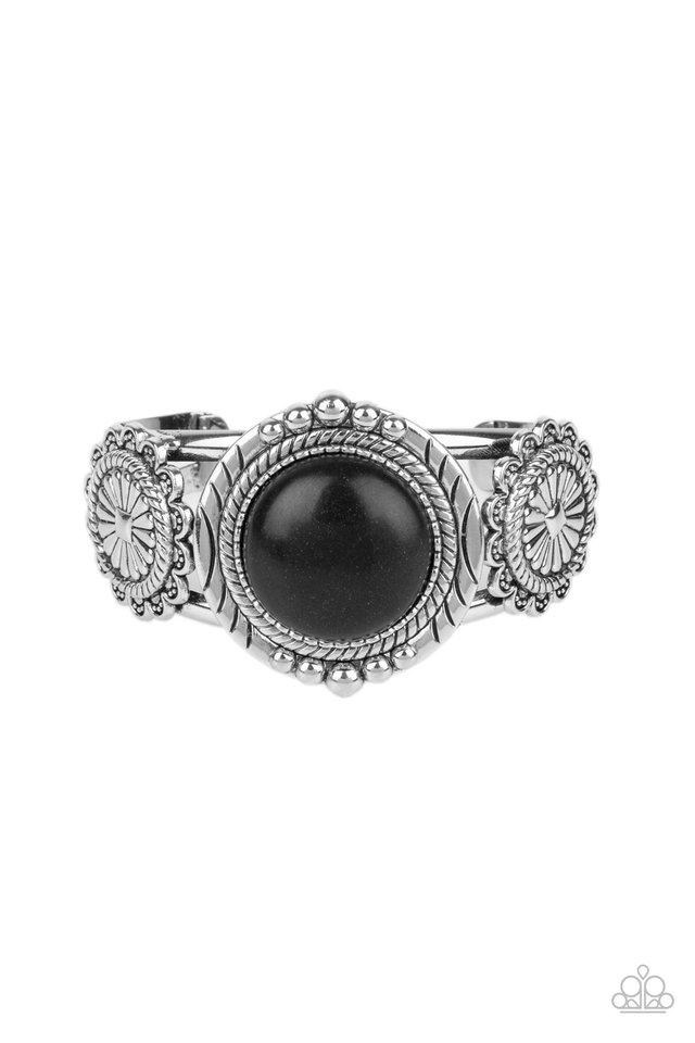 Mojave Motif - Black - Paparazzi Bracelet Image