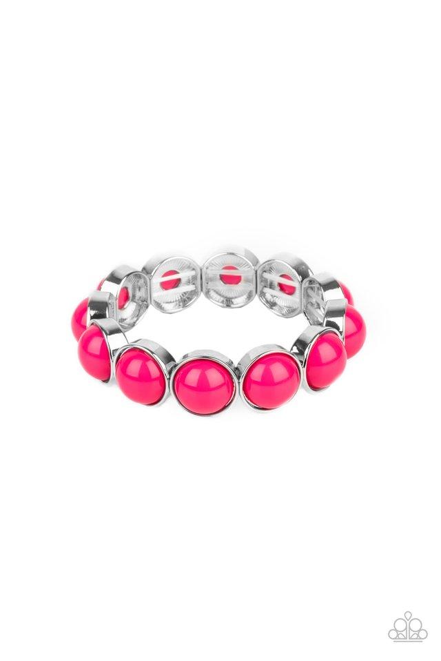 POP, Drop, and Roll - Pink - Paparazzi Bracelet Image