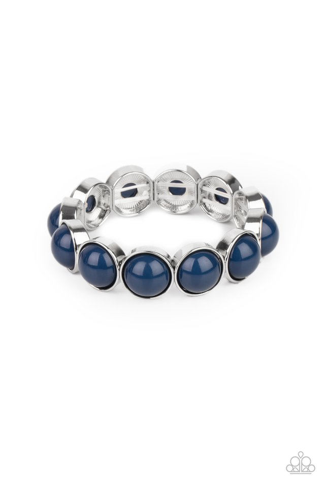 POP, Drop, and Roll - Blue - Paparazzi Bracelet Image