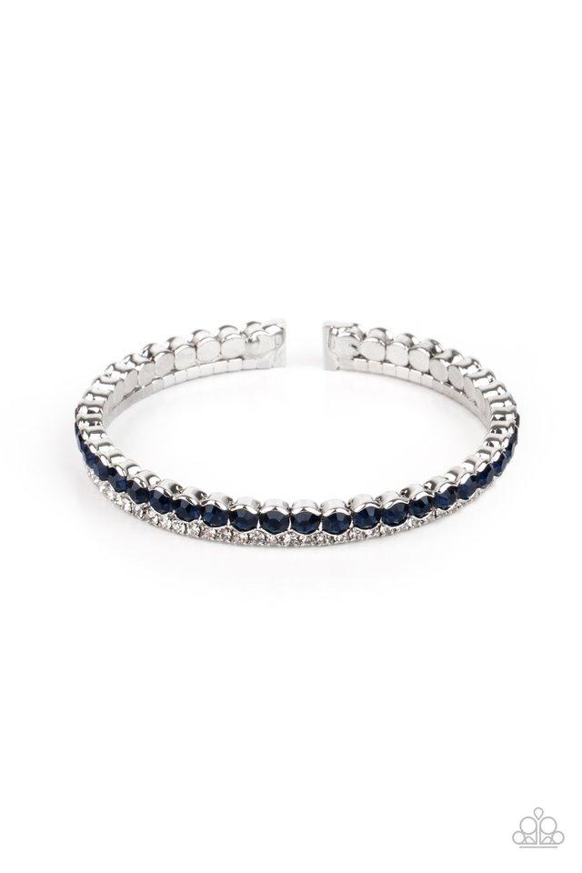 Fairytale Sparkle - Blue - Paparazzi Bracelet Image