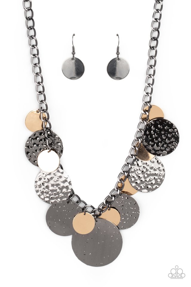 Industrial Grade Glamour - Multi - Paparazzi Necklace Image