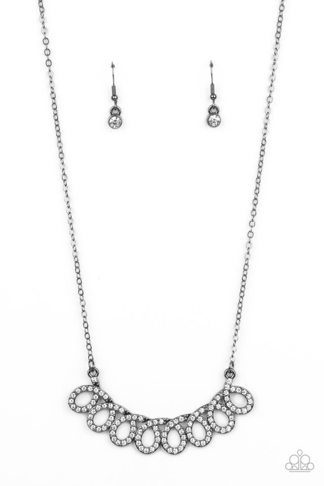 Timeless Trimmings - Black - Paparazzi Necklace Image