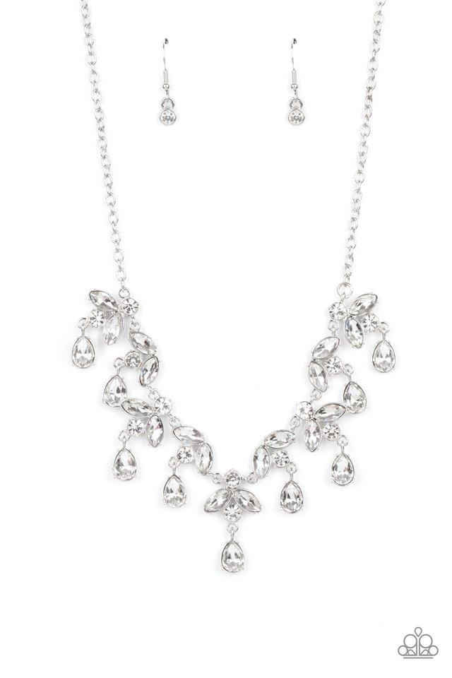 Vintage Royale - White - Paparazzi Necklace Image