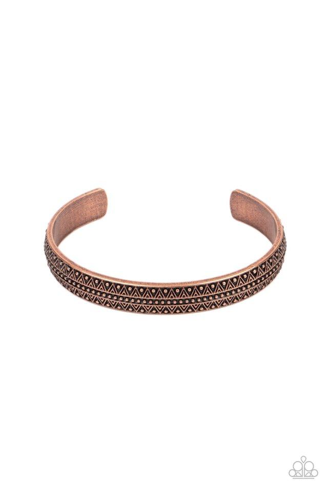 Peak Conditions - Copper - Paparazzi Bracelet Image