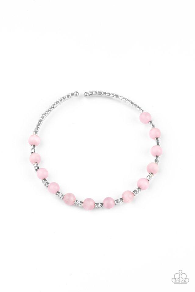 Tea Party Twinkle - Pink - Paparazzi Bracelet Image
