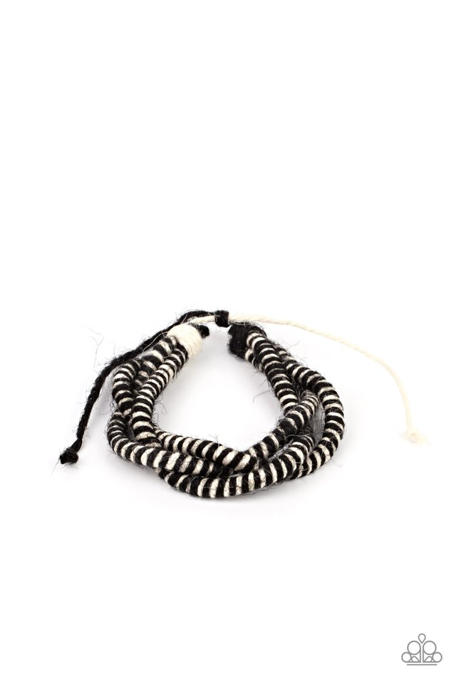 Island Endeavor - Black - Paparazzi Bracelet Image