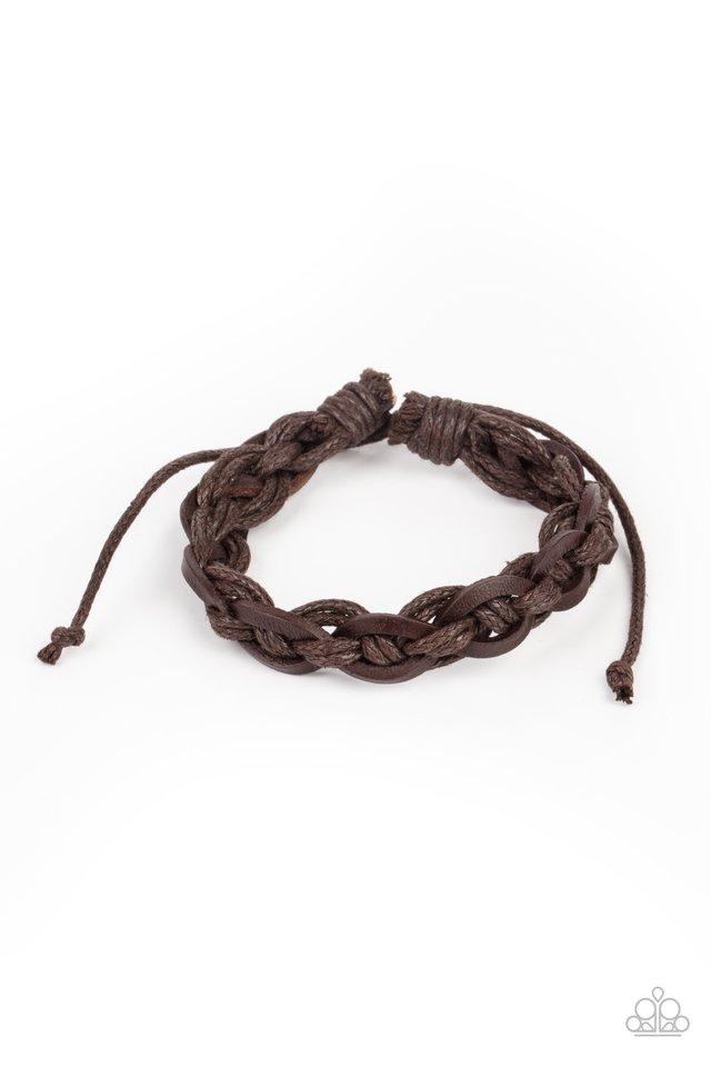Rugged Adventure - Brown - Paparazzi Bracelet Image
