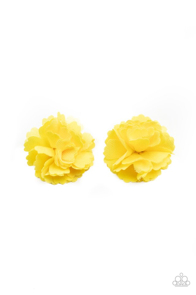 Never Let Me GROW - Yellow - Paparazzi Hair Accessories Image