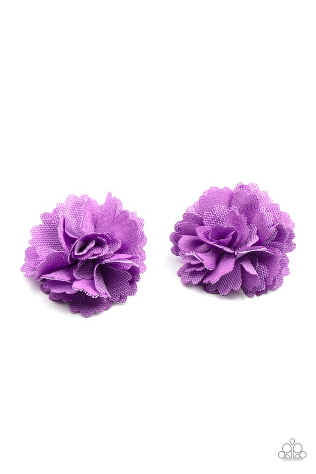 Never Let Me GROW - Purple - Paparazzi Hair Accessories Image