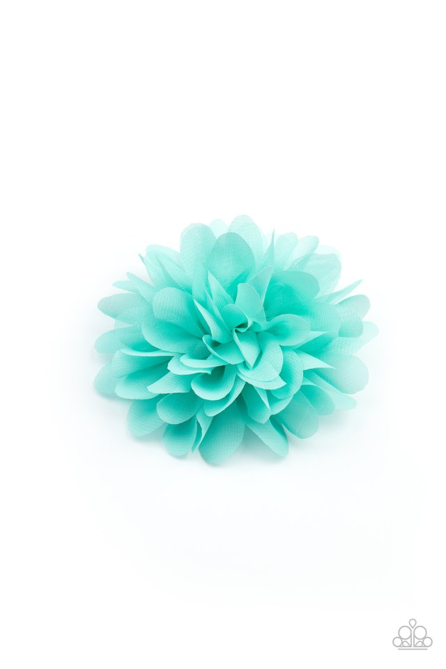 Blossom Blowout - Blue - Paparazzi Hair Accessories Image