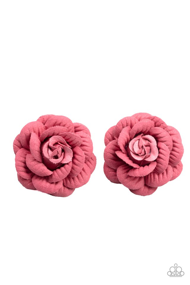 Best of Buds - Pink - Paparazzi Hair Accessories Image