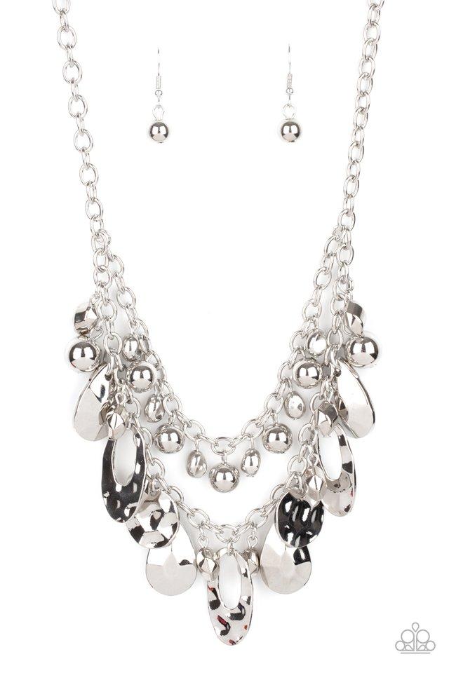 Extra Exhilarating - Silver - Paparazzi Necklace Image