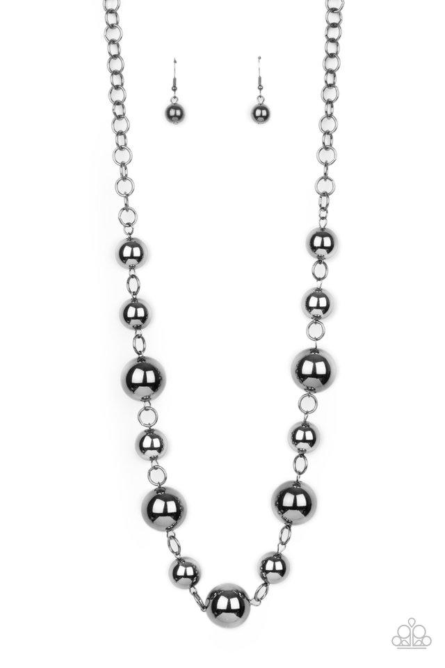 Commanding Composure - Black - Paparazzi Necklace Image