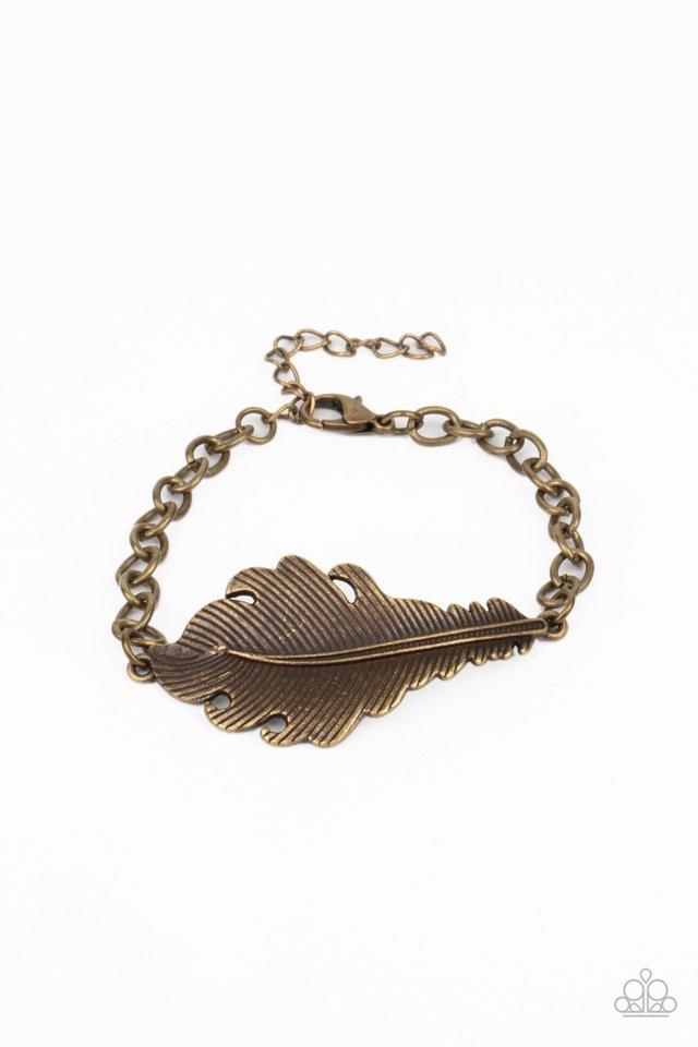 Rustic Roost - Brass - Paparazzi Bracelet Image