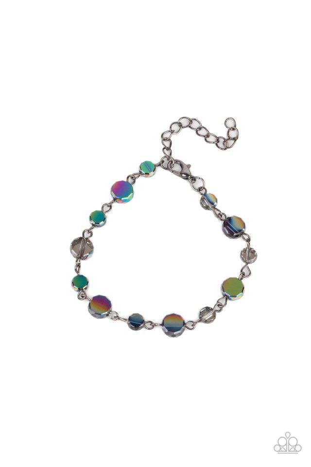 Colorfully Cosmic - Multi - Paparazzi Bracelet Image