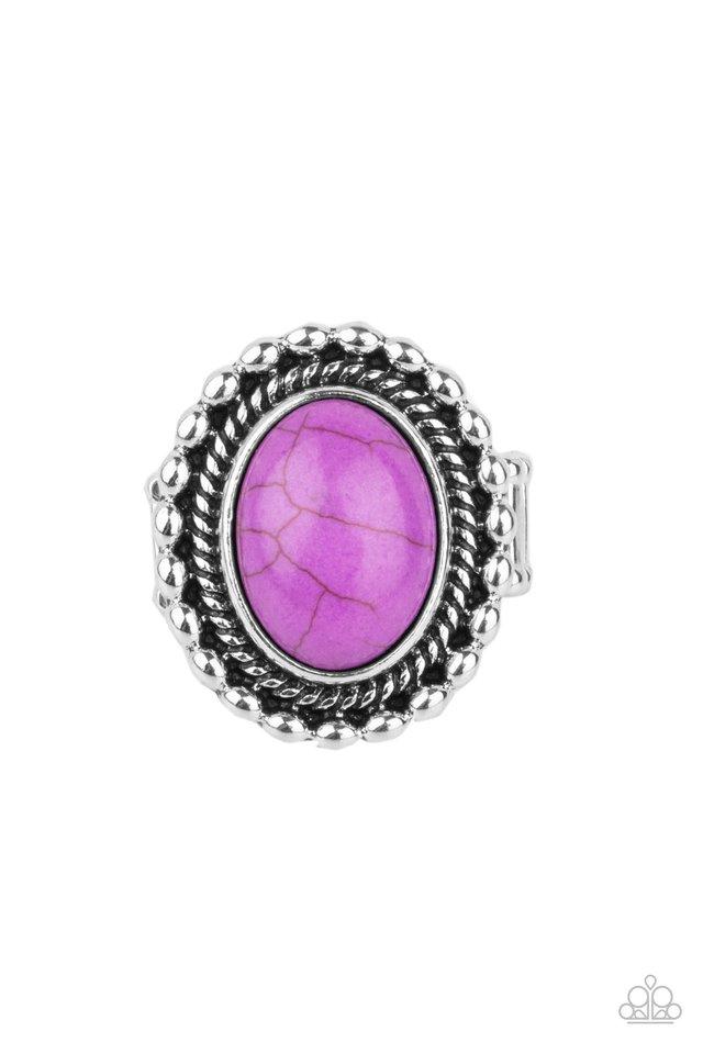 Sedona Soul - Purple - Paparazzi Ring Image