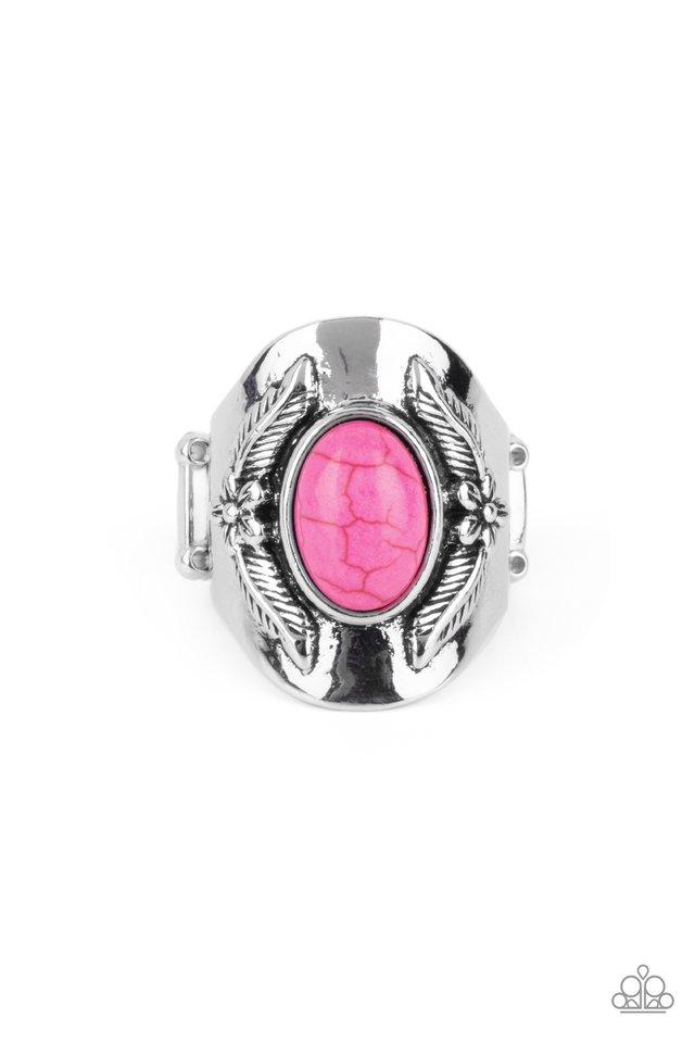 Santa Fe Sanctuary - Pink - Paparazzi Ring Image