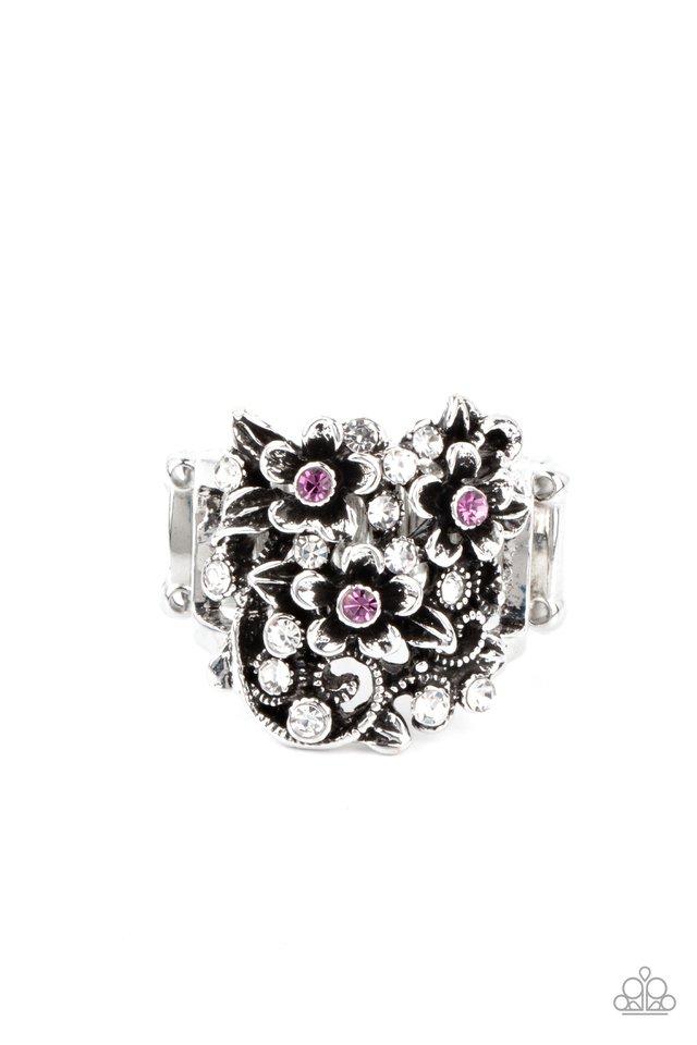 Perfectly Perennial - Purple - Paparazzi Ring Image