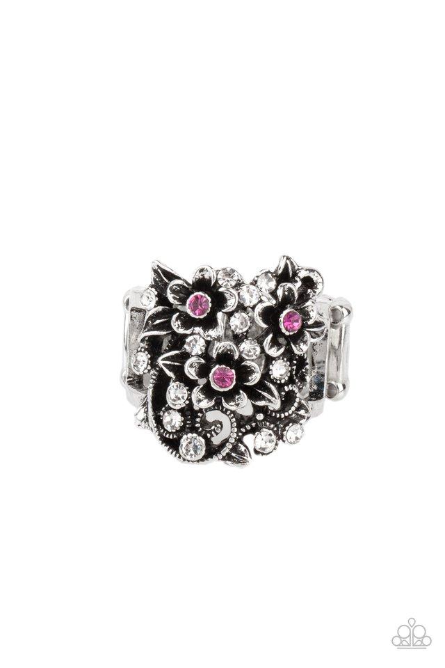 Perfectly Perennial - Pink - Paparazzi Ring Image