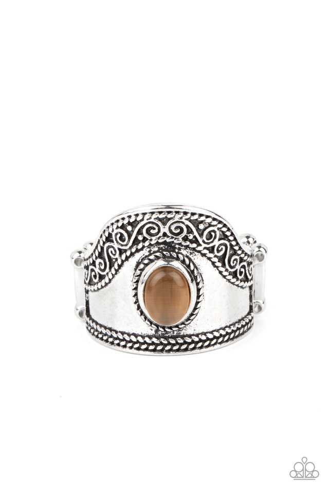 Dreamy Definition - Brown - Paparazzi Ring Image
