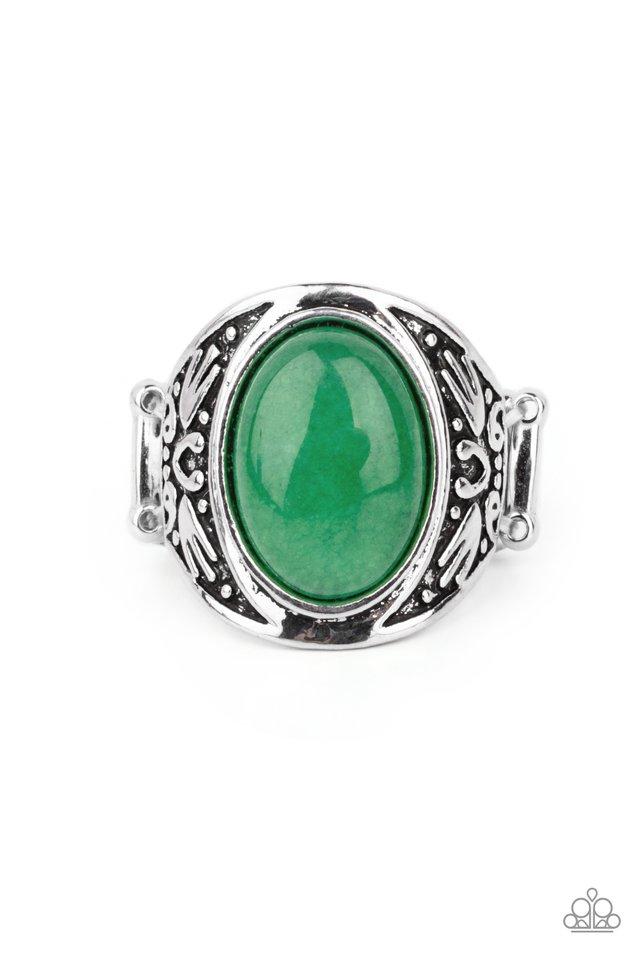 Sedona Dream - Green - Paparazzi Ring Image
