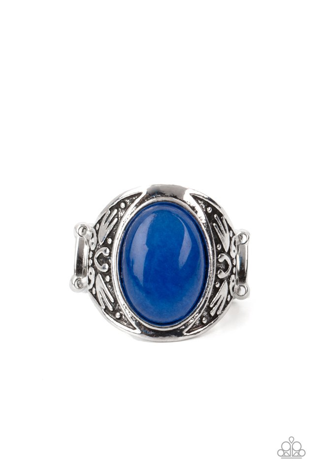 Sedona Dream - Blue - Paparazzi Ring Image