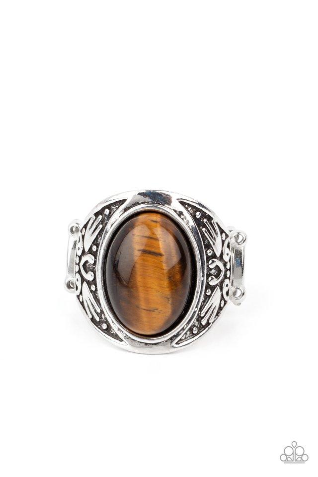 Sedona Dream - Brown - Paparazzi Ring Image