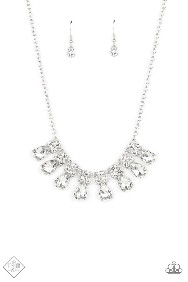 Sparkly Ever After - Paparazzi Necklace Image