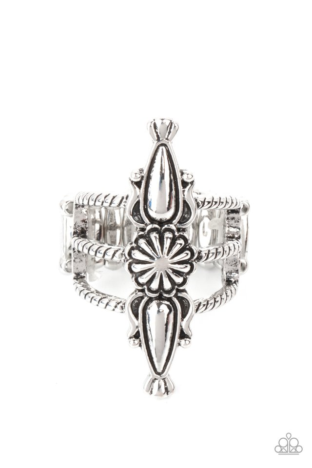 Westward Expansion - Silver - Paparazzi Ring Image