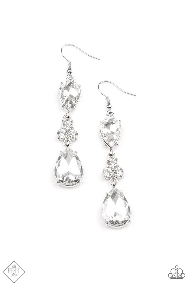 Once Upon a Twinkle - Paparazzi Earring Image