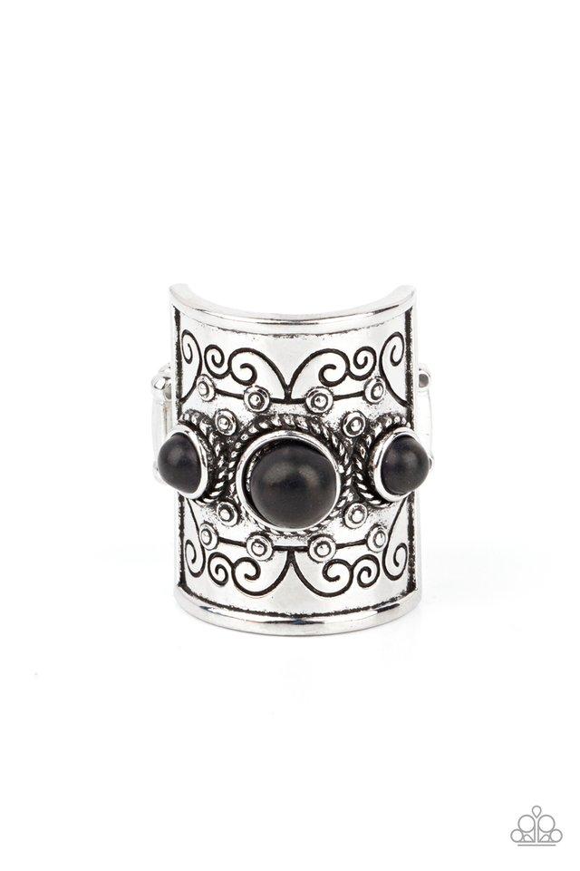 Southwestern Scenery - Black - Paparazzi Ring Image