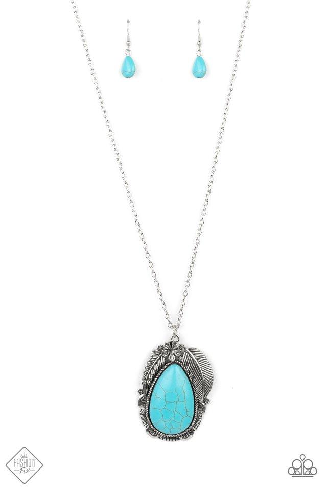 Tropical Mirage - Blue - Paparazzi Necklace Image