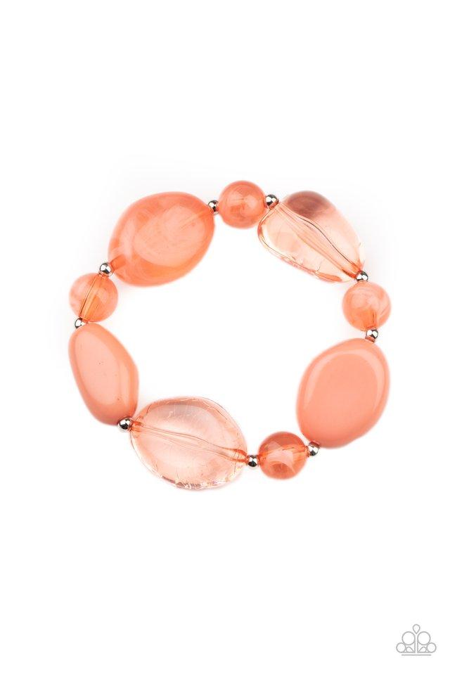 I Need a STAYCATION - Orange - Paparazzi Bracelet Image