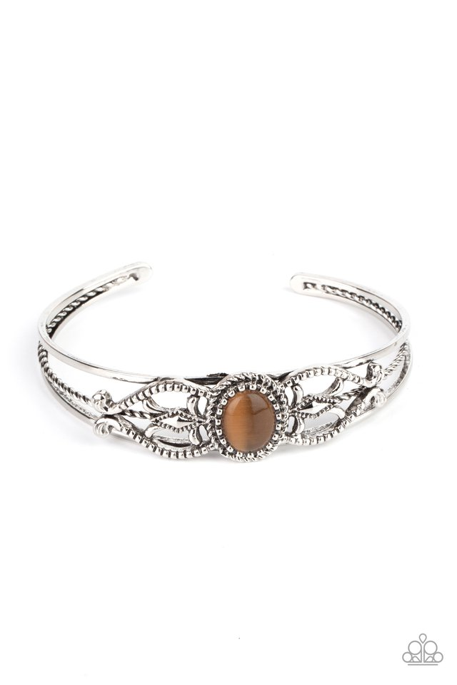Wait and SEER - Brown - Paparazzi Bracelet Image