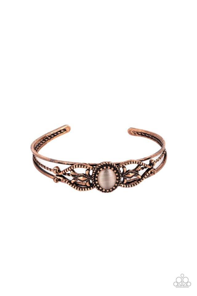 Wait and SEER - Copper - Paparazzi Bracelet Image