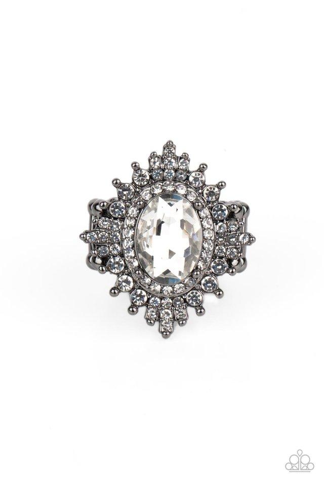 Five-Star Stunner - Black - Paparazzi Ring Image