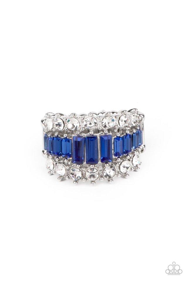 CACHE Value - Blue - Paparazzi Ring Image