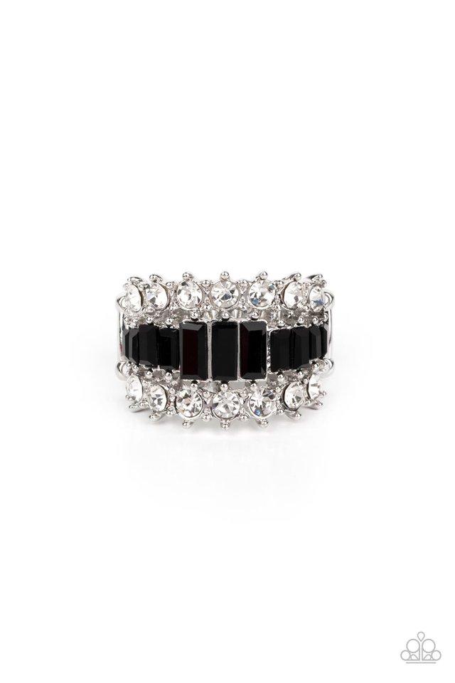 CACHE Value - Black - Paparazzi Ring Image