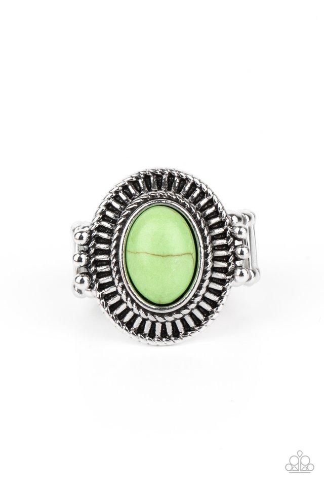 BADLANDS To The Bone - Green - Paparazzi Ring Image
