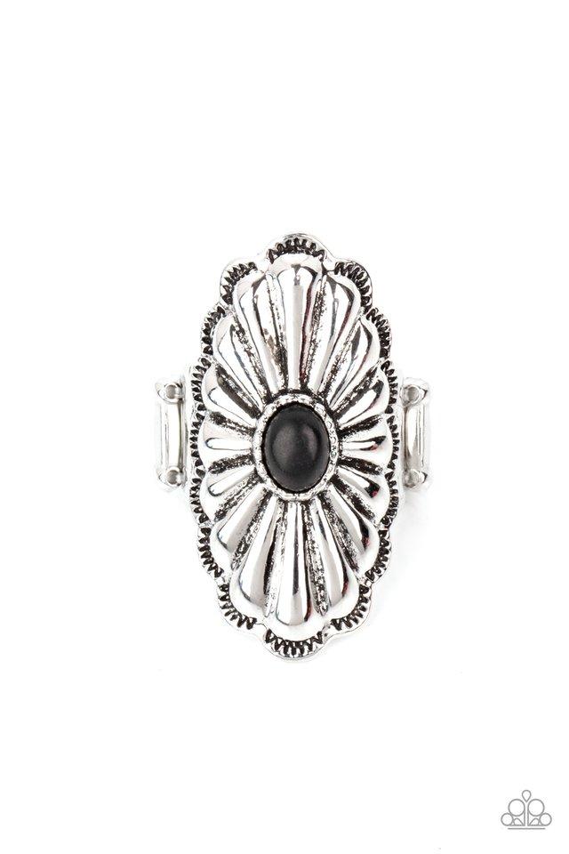 Cottage Couture - Black - Paparazzi Ring Image