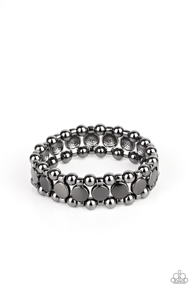 Metro Magnetism - Black - Paparazzi Bracelet Image