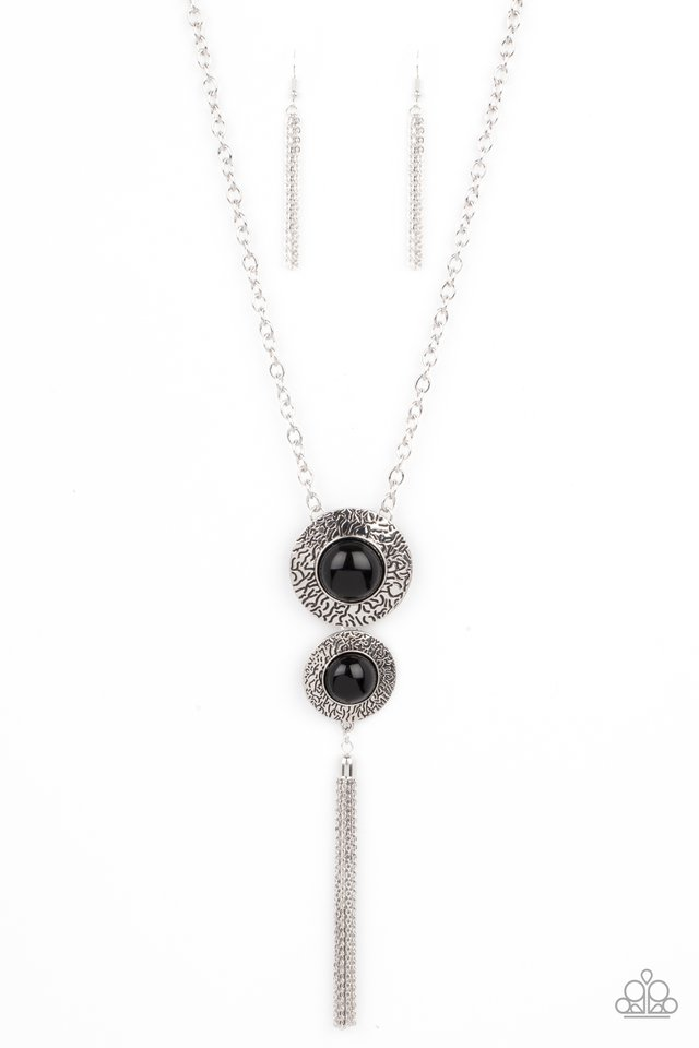 Abstract Artistry - Black - Paparazzi Necklace Image