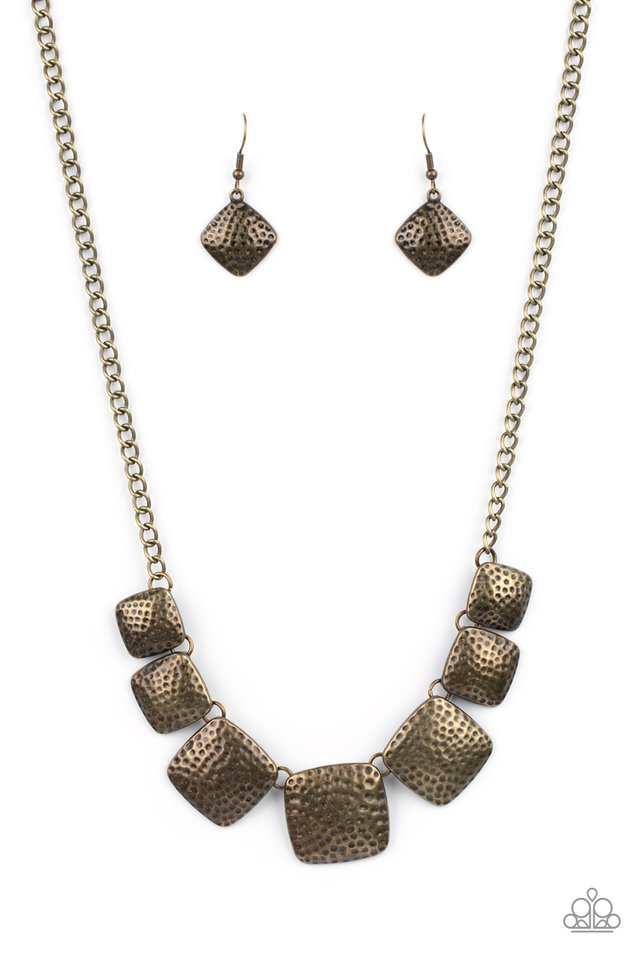 Keeping It RELIC - Brass - Paparazzi Necklace Image