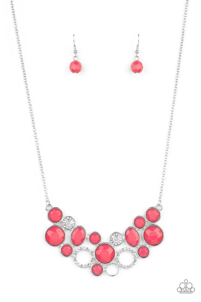 Extra Eloquent - Pink - Paparazzi Necklace Image