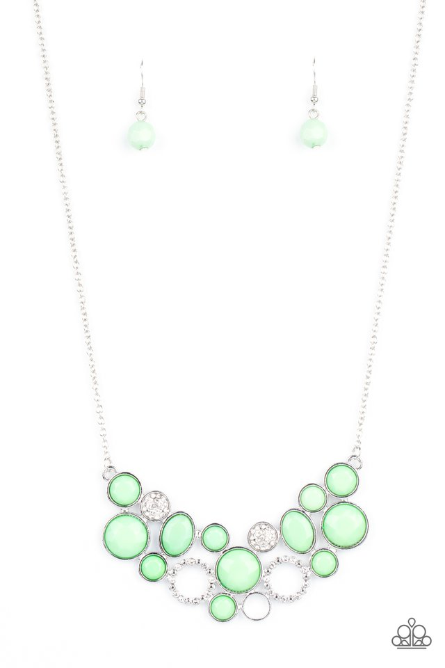 Extra Eloquent - Green - Paparazzi Necklace Image