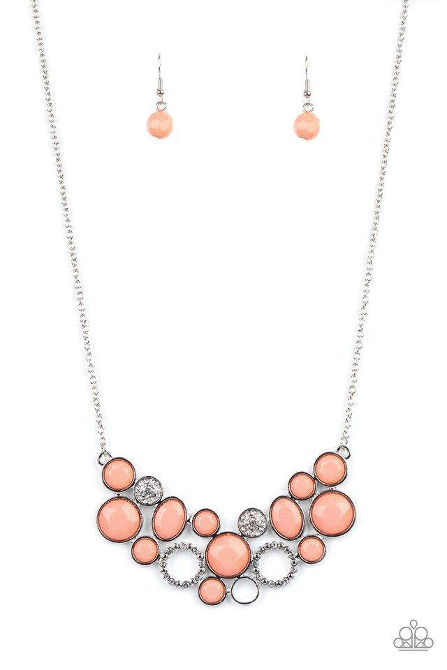 Extra Eloquent - Orange - Paparazzi Necklace Image