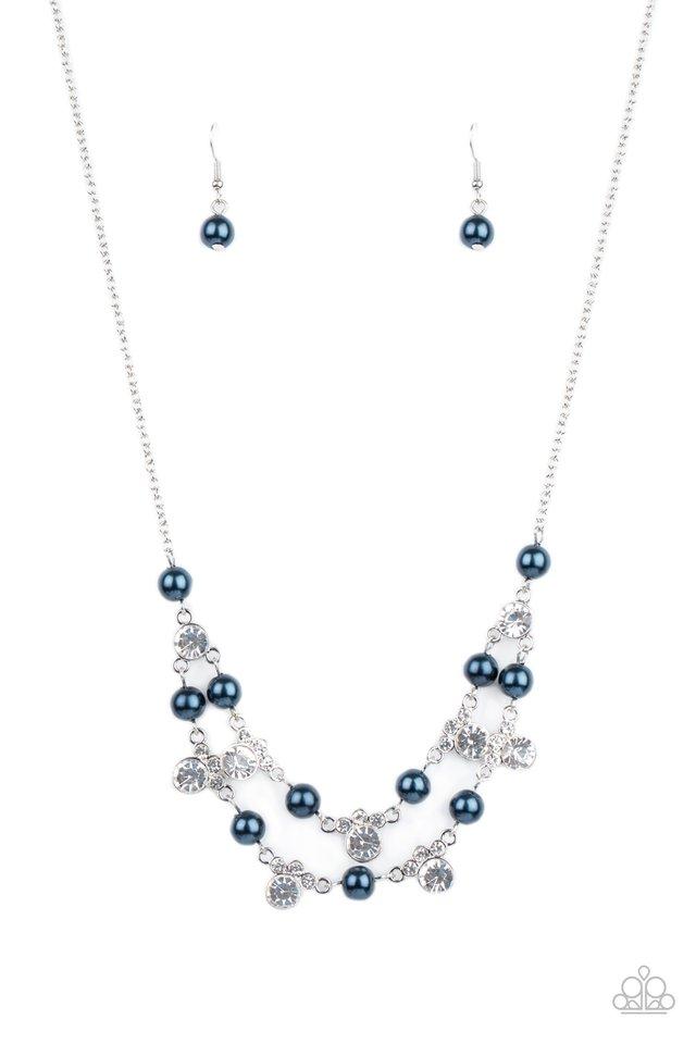 Royal Announcement - Blue - Paparazzi Necklace Image