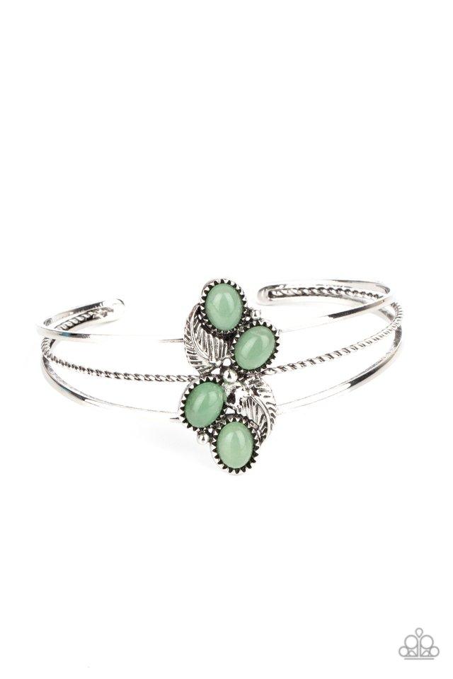 Eco Enthusiast - Green - Paparazzi Bracelet Image