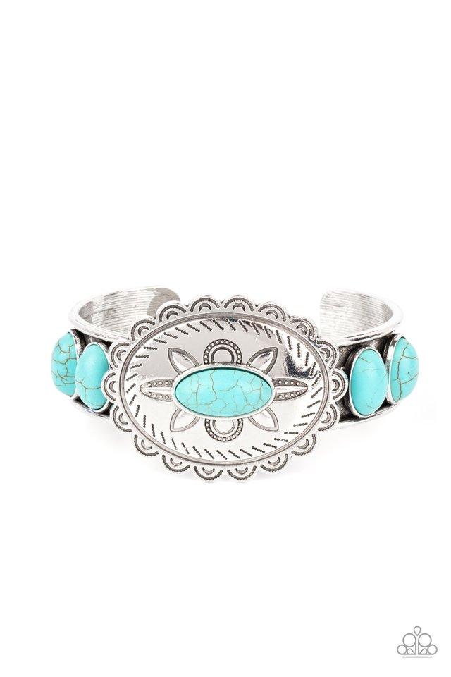 Canyon Heirloom - Blue - Paparazzi Bracelet Image